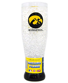 Iowa Crystal Pilsner Glass