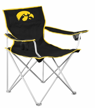 Iowa Deluxe Adult Folding Logo Chair