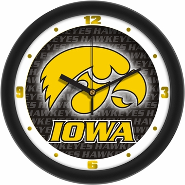 Iowa Dimension Wall Clock