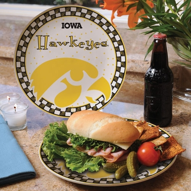 Iowa Gameday Ceramic Plate