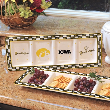 Iowa Gameday Relish Tray