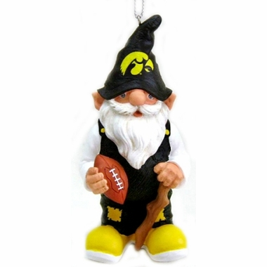 Iowa Gnome Christmas Ornament