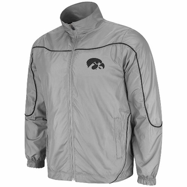 Iowa Gunner Charcoal Full Zip Training Jacket