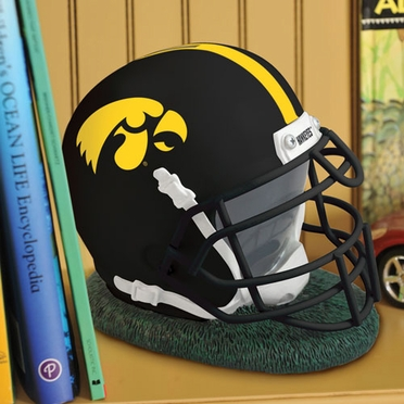 Iowa Helmet Shaped Bank