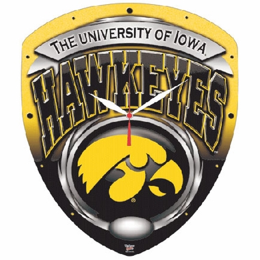 Iowa High Definition Wall Clock