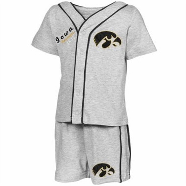 Iowa Infant Batter Up Shirt & Shorts Set