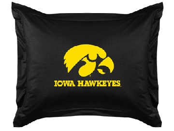 Iowa Jersey Material Pillow Sham