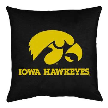 Iowa Jersey Material Toss Pillow