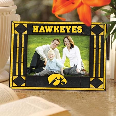 Iowa Landscape Art Glass Picture Frame