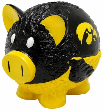 Iowa Hawkeyes Piggy Bank - Thematic Large