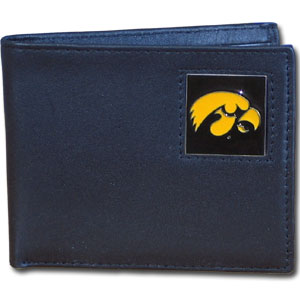 Iowa Leather Bifold Wallet (F)