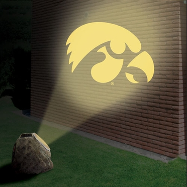 Iowa Logo Projection Rock