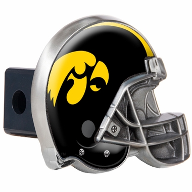 Iowa Metal Helmet Trailer Hitch Cover