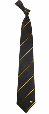 Iowa Oxford Stripe Woven Silk Necktie