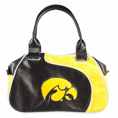Iowa Perf-ect Bowler Purse
