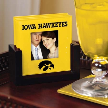 Iowa Photo Coaster Set