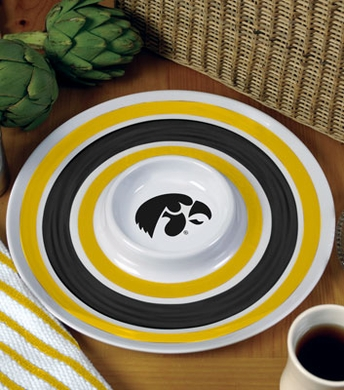 Iowa Plastic Chip and Dip Plate
