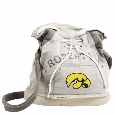 Iowa Property of Hoody Duffle