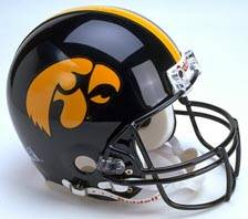 Iowa Hawkeyes Riddell Full Size Authentic Helmet