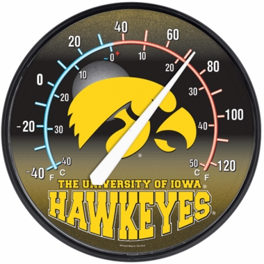Iowa Round Wall Thermometer