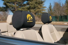 Iowa Set of 2 Headrest Covers