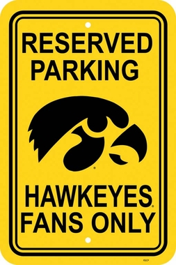 Iowa Plastic Parking Sign (P)