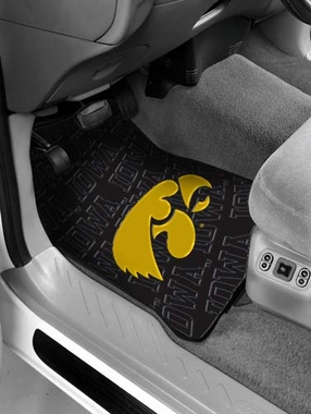 Iowa Set of Rubber Floor Mats