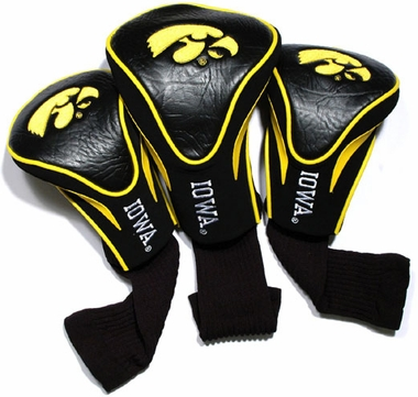Iowa Set of Three Contour Headcovers