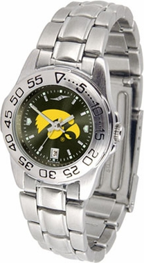 Iowa Sport Anonized Women's Steel Band Watch