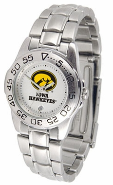 Iowa Sport Women's Steel Band Watch