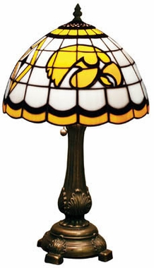 Iowa Stained Glass Table Lamp