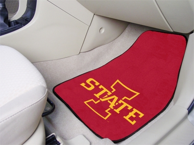 Iowa State 2 Piece Car Mats