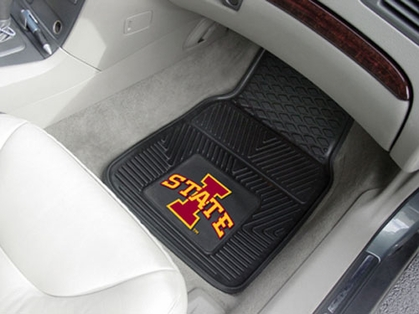 Iowa State  2 Piece Heavy Duty Vinyl Car Mats