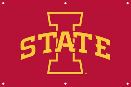 Iowa State 2 x 3 Horizontal Applique Fan Banner
