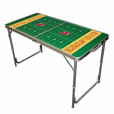 Iowa State 2 x 4 Foot Tailgate Table