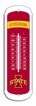 Iowa State 27 Inch Outdoor Thermometer (P)