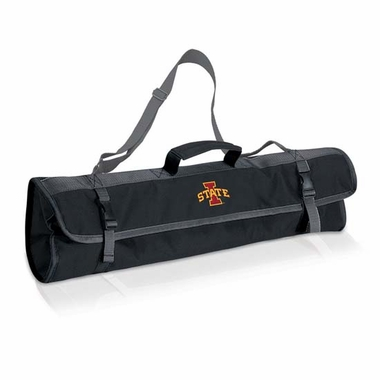 Iowa State 3 Piece BBQ Tote (Black)
