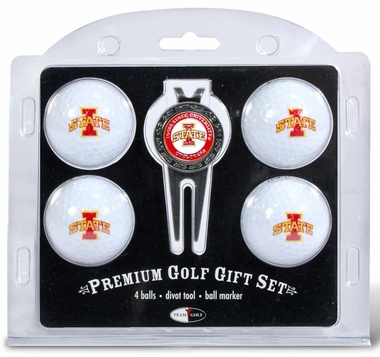 Iowa State 4 Ball and Divot Tool Set