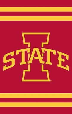 Iowa State Applique Banner Flag