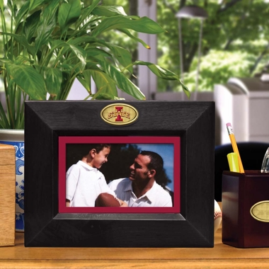 Iowa State BLACK Landscape Picture Frame