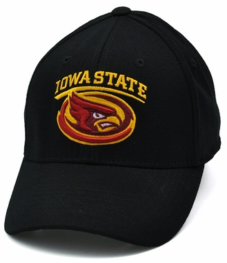 Iowa State Black Premium FlexFit Baseball Hat