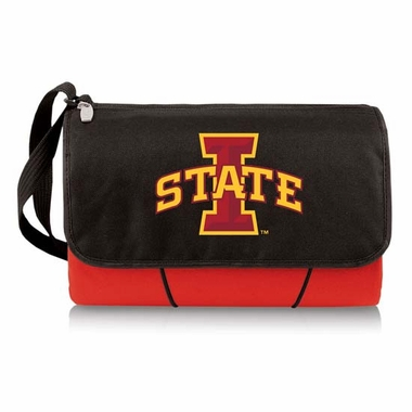 Iowa State Blanket Tote (Red)