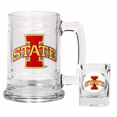 Iowa State Boilermaker Set