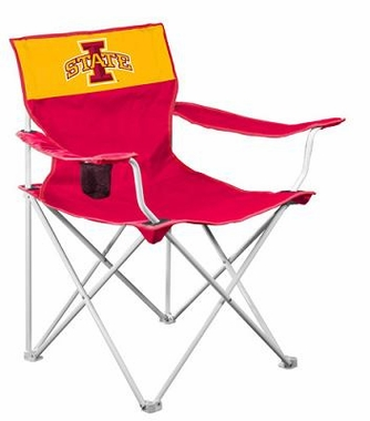 Iowa State Canvas Adult Folding Logo Chair