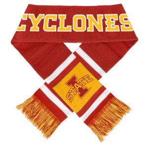 Iowa State Cyclones 2012 Team Stripe Knit Scarf