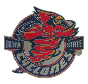 Iowa State Cyclones Hitch Cover Class 3