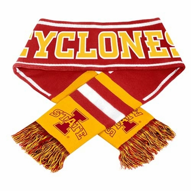 Iowa State Cyclones NCAA 2013 Team Wordmark Knit Scarf