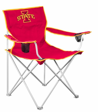 Iowa State Deluxe Adult Folding Logo Chair