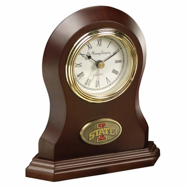 Iowa State Desk Clock