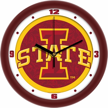 Iowa State Dimension Wall Clock